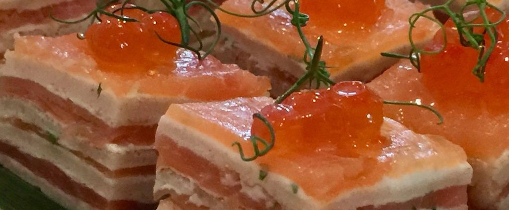 Smoked Salmon Mille Feuille
